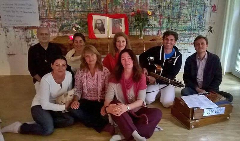 Die ersten deutschen Bhakti Marga Gruppen strahlen