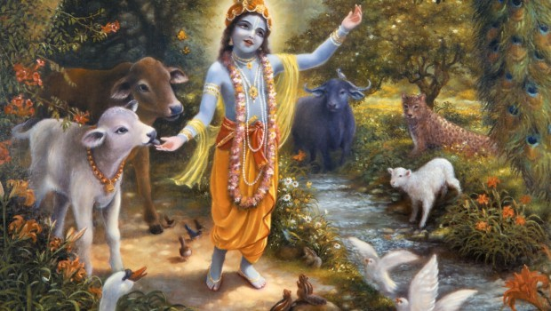 Krishna-with-the-animals-of-Vrindavan-on-the-bank-of-the-Yamuna-River-620x350